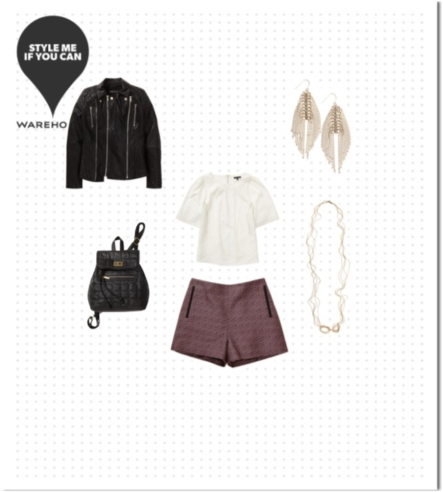 Check out the Warehouse outfit I styled!!