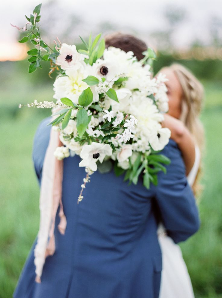 An Ethereal Ceremony Under a Flower Adorned Pecan Tree