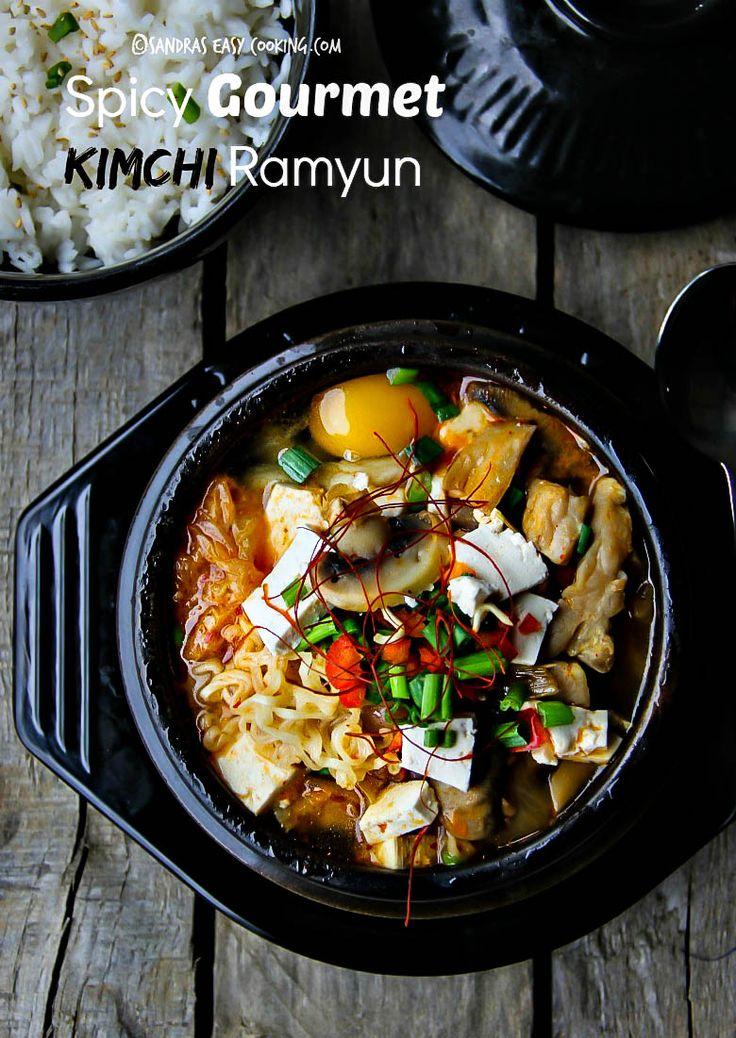 306 best korean food images on pinterest korean food recipes spicy gourmet kimchi ramyun kimchi ramenrice noodlesethnic foodasian cookingeasy cookingcooking tipskorean forumfinder Images