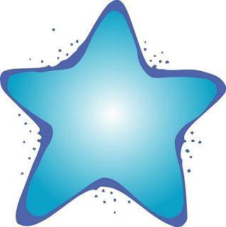 Estrellas de colores para imprimir
