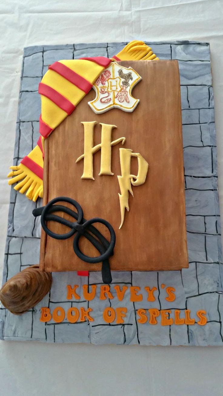Harry Potter cake for Kurvey :)
