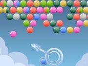 Free Online Puzzle Games, Burst as many bubbles as you can by matching 3 of the same color in Cloudy Bubbles!  Make sure you choose your shots carefully, because the bubbles will overrun the screen, and once they reach the bottom, the game is over!  You have 3 lives, so make sure you use them wisely!, #cloudy #bubble #shooter #puzzle #popper #poppit