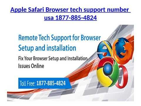 Apple Safari Browser tech support number 1877-885-4824