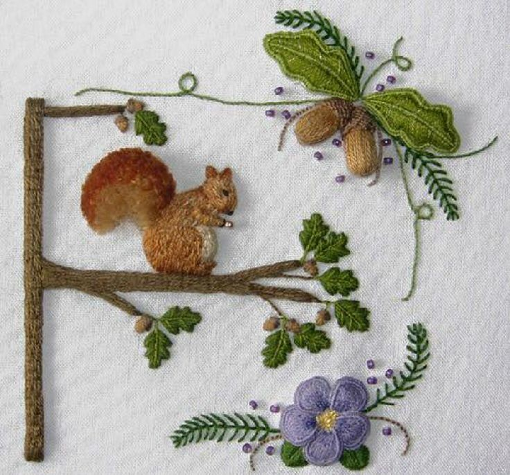 I ❤ brazilian embroidery &  stumpwork . . . Beautiful Stumpwork Embroidery ~From The Floss Box designs