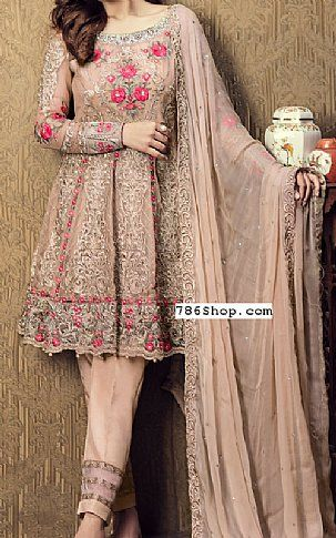 Ivory Chiffon Suit | Buy Imrozia Pakistani Dresses and Clothing online in USA, UK