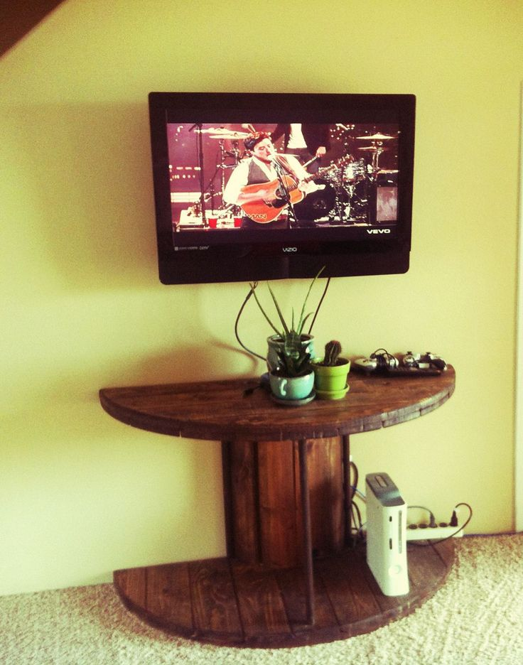 Marvelous Diy Recycled Wooden Spool Furniture Ideas For Your Home No 06
