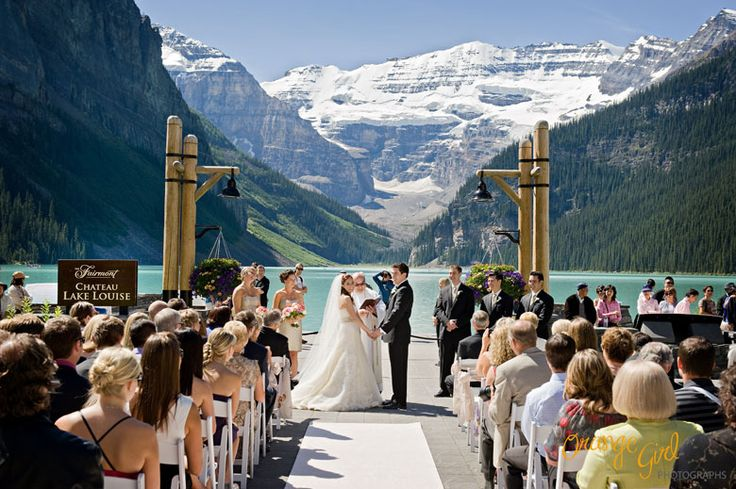 ♥ Chateau Lake Louise - Laura + Mark ♥ * Banff Wedding Photographer * Emerald Lake Wedding Photographer