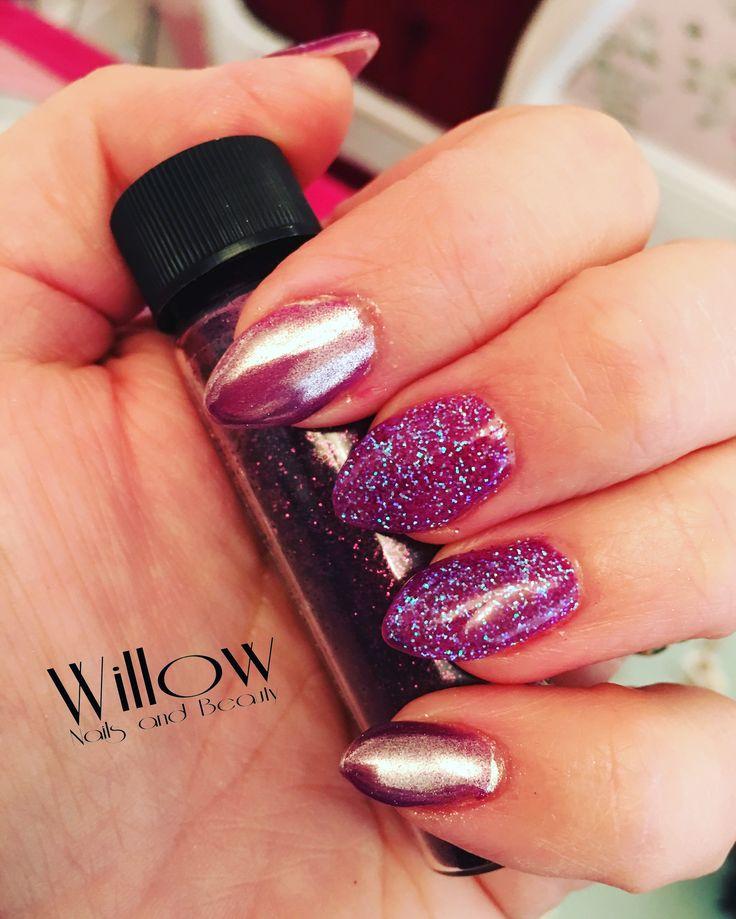 Avon Chrome Nail Powder: 1000+ Ideas About Glitter Gel Nails On Pinterest