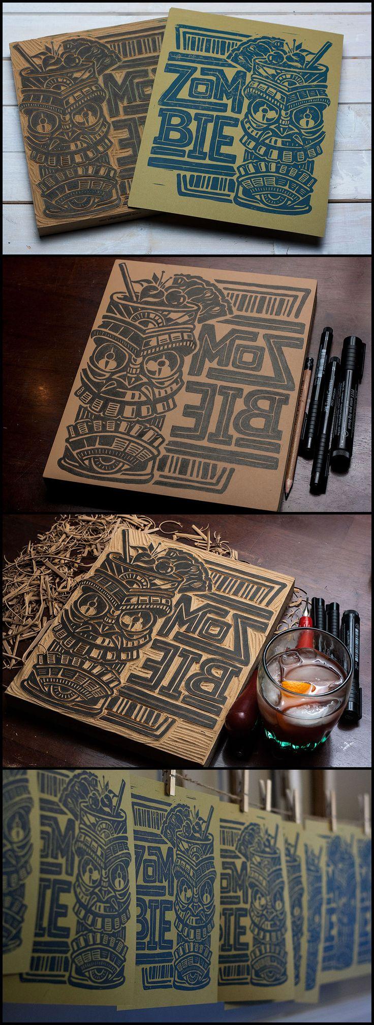 Zombie-print-set