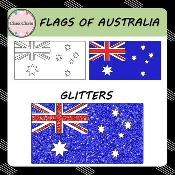 In this set, you will find 3 flags of Australia:- a blank flag- a colored flag- glitter Australian flagHigh quality: 300 dpi / PNG formatRelated Item:Maps of Australia                                USAGE This product is for your personal use and your commercial purposes.It is to be used by the original downloader only.