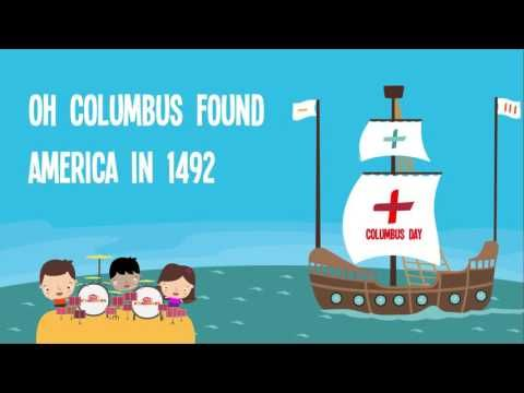 Columbus Day for Kids | Columbus Day Song Lyrics for Kids | Christopher ...