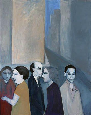 Robert Dickerson ~ Pitt Street, 2007