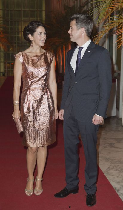 Romance on the road for Crown Princess Mary and Crown Prince Frederik of Denmark in beautiful Brazil