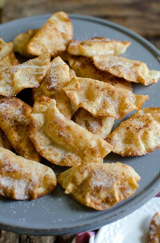 Fried Cinnamon Apple Hand Pies for Jessica's Virtual Bridal Shower
