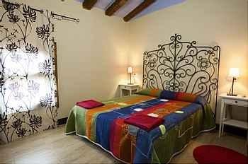 Habitación matrimonio. Casa rural en Navarra. Bardenas Reales de Navarra.