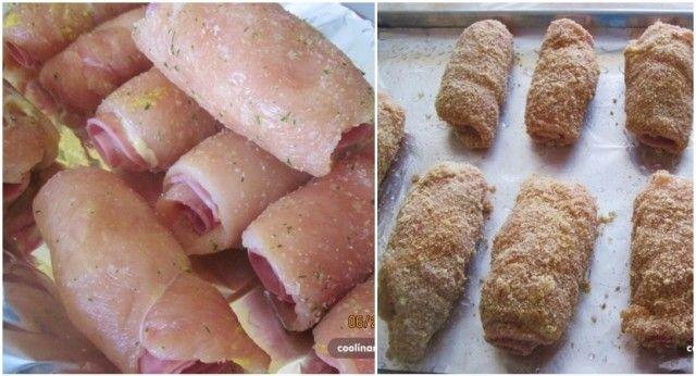 Zabudnite na obyčajné kuracie prsia. Urobte si doma Cordon Bleu bez smaženia, pečený v rúre. Ich vôňu a chuť si zamilujete! - Báječná vareška