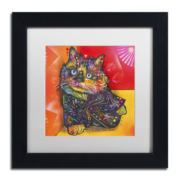 Dean Russo 'Baby Albert' Matted Framed Art