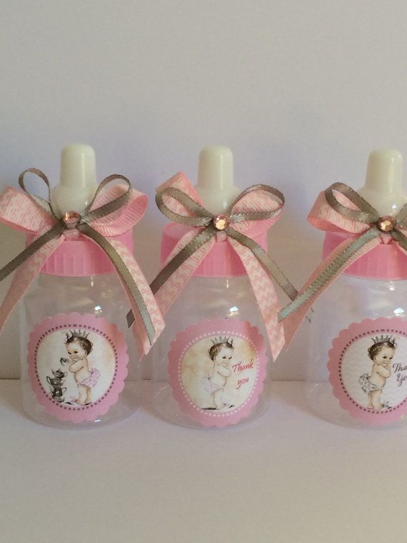 vintage little princess baby shower favors by