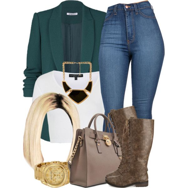 A fashion look from November 2014 featuring Topshop tops, Forever 21 boots and Michael Kors tote bags. Browse and shop related looks.