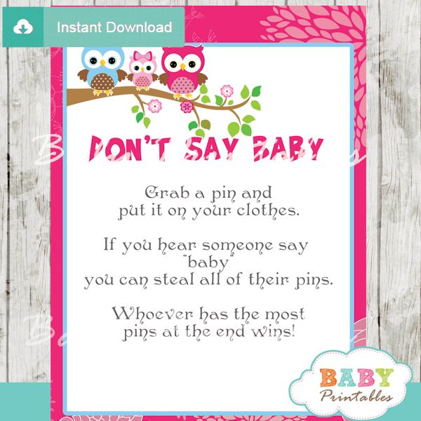 120-Hot-Pink-Owl-Family-Baby-Shower-Games-Don't-say-baby