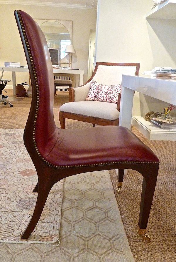 Charlotte Barnes Collection Carey Dining Chair ~ wow!
