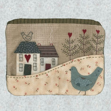 Shop | Category: Patterns - Bags & Purses | Product: Country Cottage Purse