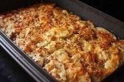 caserolă de cartofi cu pui