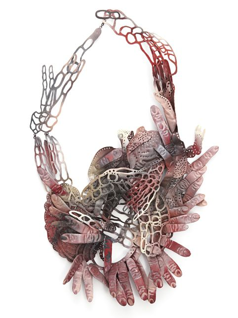 2010 : HANNA HEDMAN Human Tree Collection - I love some of the irregular shapes that make up her pieces!
