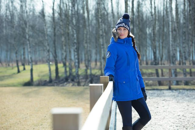 Our Horze Supreme Brooke Women's Long Parka Jacket is ideal for riding in tough weather and has plenty of sporty, stylish detail.