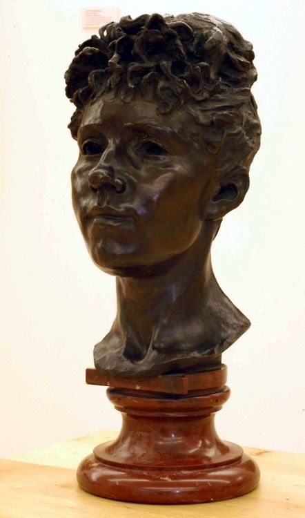CAMILLE CLAUDEL, HEAD OF A YOUNG GIRL