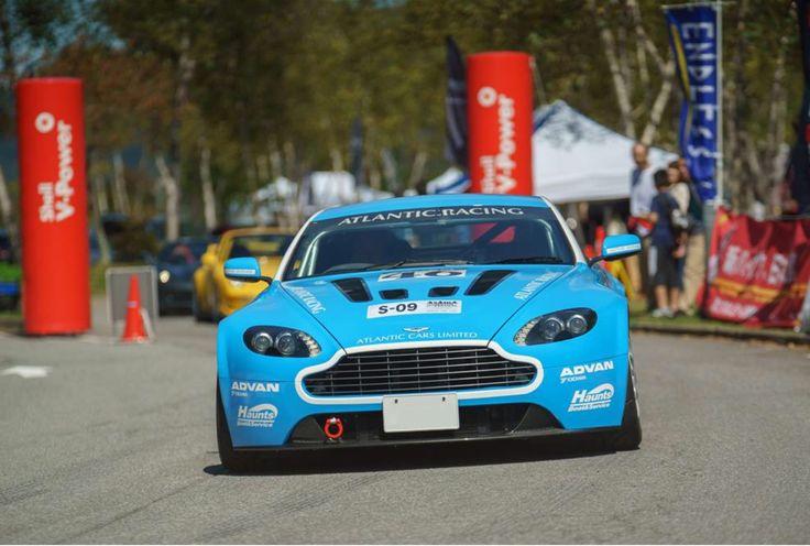 Aston Martin V8 Vantage at Asama Motor Festival Japan