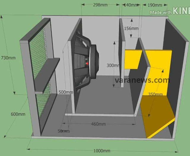 Skema Box Subwoofer Super Dynacord 18 Inch Mantap Suara Speaker Rangkaian Elektronik