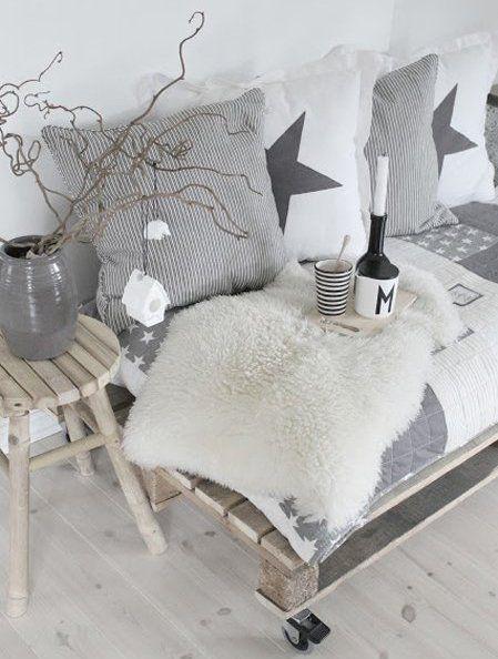 60 Best Wohnzimmer Grau Images On Pinterest | Live, Living Room ... Wohnzimmer Sofa Grau