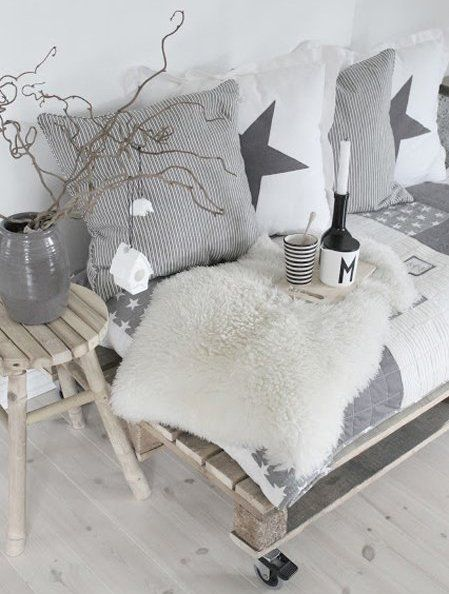 60 best images about wohnzimmer grau on pinterest | grey, fur and ... - Wohnzimmer Weis Shabby