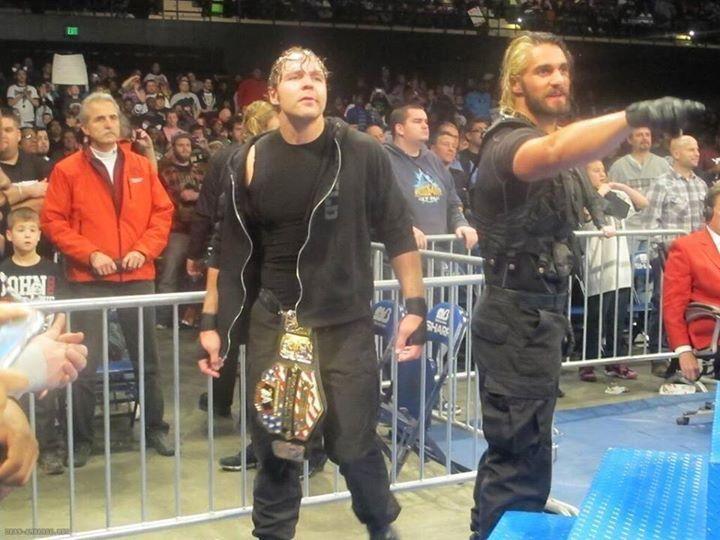 Ambrollins Dean Ambrose and Seth Rollins