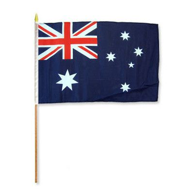 FlagsImporter Australia Traditional Flag and Flagpole Set