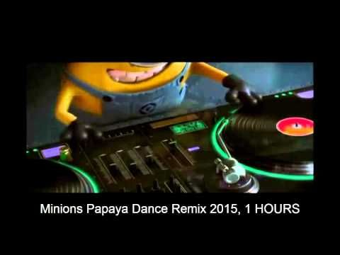 1 hours version New Minions dance song by Minion DJ Banana Papaya Remix