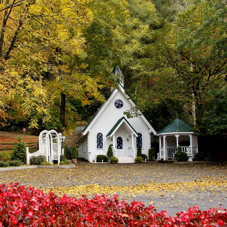 Cupid's Chapel of Love - Gatlinburg - TN. USA  My husband and I got married in 1999 here.