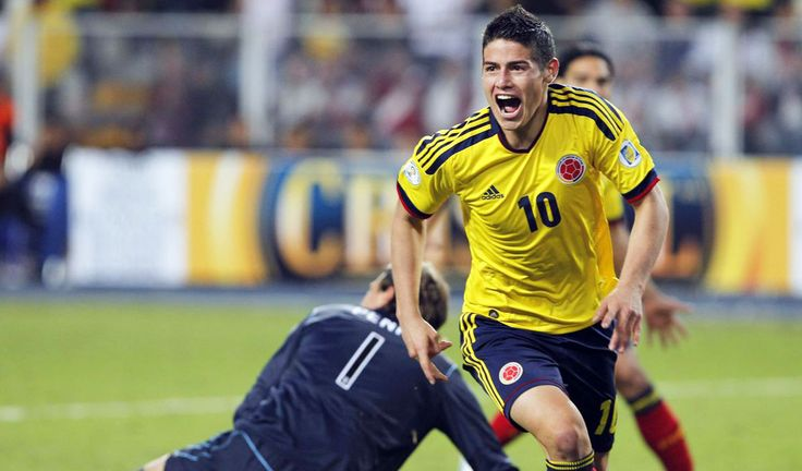 James Rodriguez #10 Colombia Mundial Brasil 2014