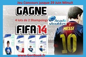 Gagnez 4 x 2 shampoings HeadShoulders #CONCOURS #LionelMESSI #worldcup #Brazil2014 #CDM2014
