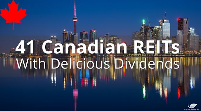 DNEWs: Canada REITs I Would Like To Own