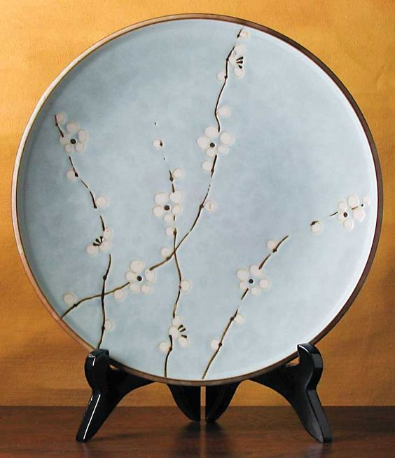 images cherry blossom plates - Google Search