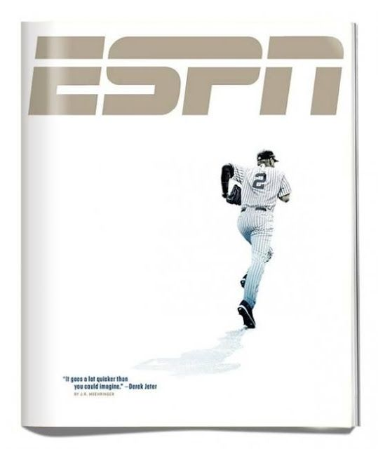 Sports Magazine Covers: Derek Jeter