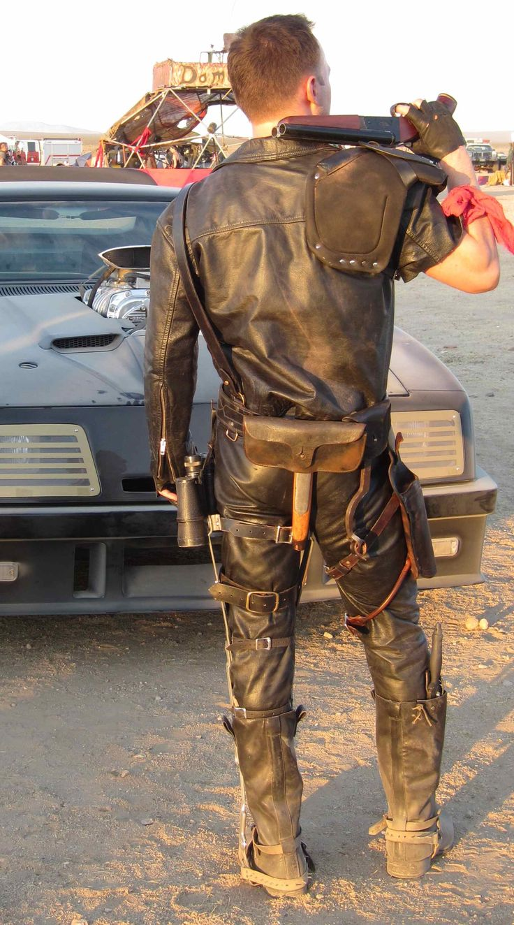 Some dust and dirt on these black leathers keeps them from looking new and shiny.