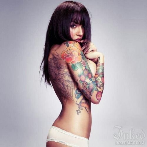 tatto girl 4
