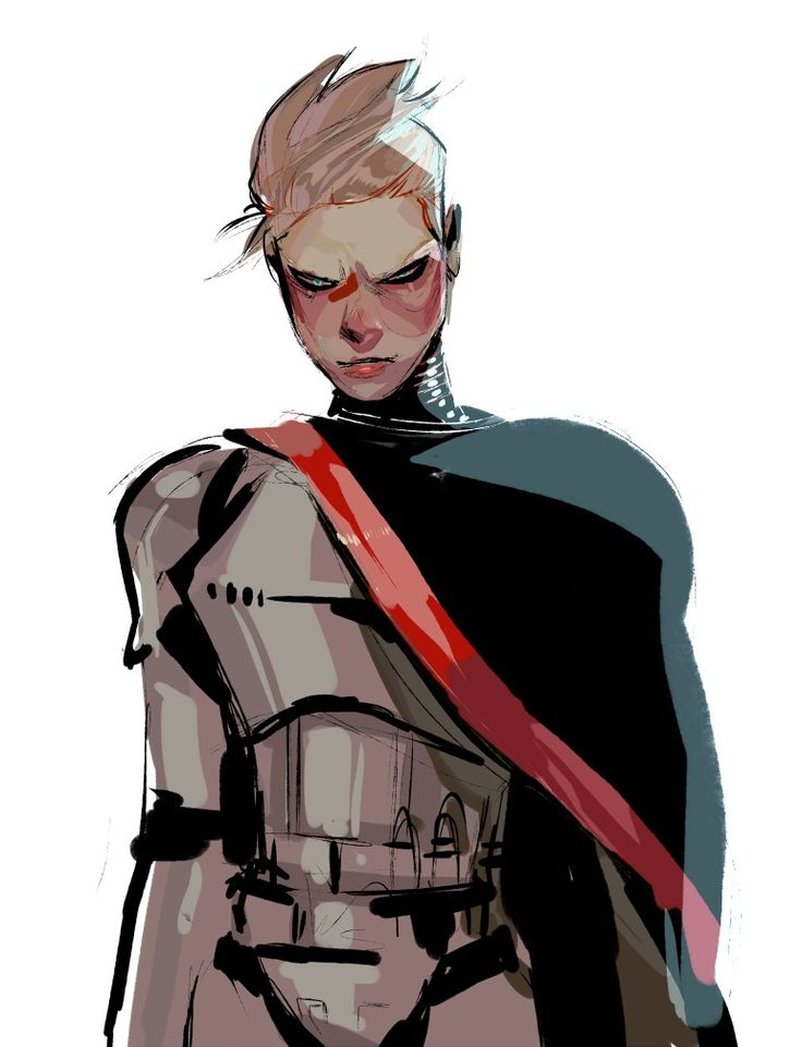 Star Wars: The Force Awakens Captain Phasma Fan Art                                                                                                                                                                                 More