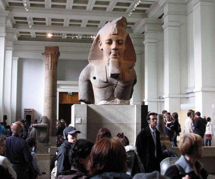 Arte egipcio en el Museo Británico de Londres