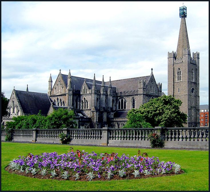 St. Patrick's Cathedral-Dublin, Ireland.  Church of England/Ireland should give St. Patrick's back to the Catholics who started and built this church. It was taken over by the Church of England when Henry VIII broke with the  Roman Catholic Church.