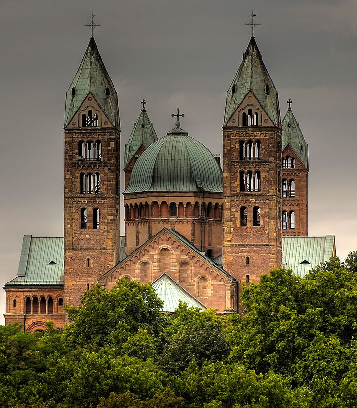 Speyer Dom - Speyer, Germany, the oldest cathedral we visited.