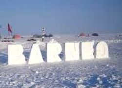 Camp Barneo in Russia is a complex of tents located on a block of ice at 89 degree north latitude. The camp has an autonomous life support system with diesel generator that provides residential heating and power supply area for meals.  http://tripelonia.com/headline/camp-barneo-in-russia/42